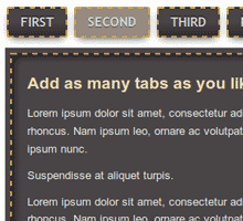 jQuery Tabs 3